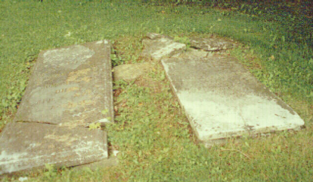 Grave site of Daniel L. Goble and his second wife, martha Linn Goble Fitzgerald