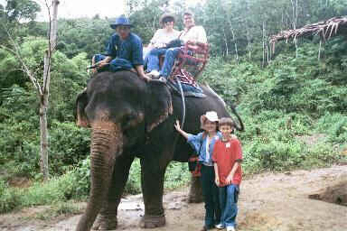 Our Elephant Ride